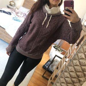 Aritzia TNA cowl neck sweater